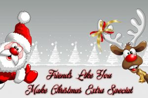 friends make xmas special