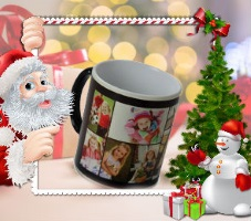 photo mug Xmas gift for children